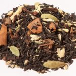 black spicy bombay chai zwarte losse thee bio